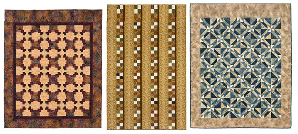 Quilts for men from The Big Book of Patchwork 3