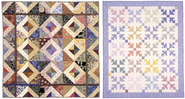 Quilts from Triangle Tricks