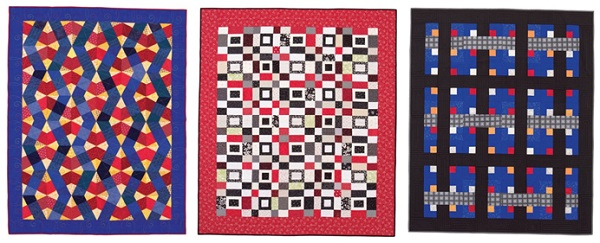 Red quilts for men