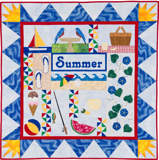 The Quilter's Home - Summer: