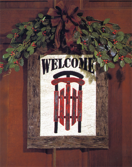 Winter Welcome Wall Hanging