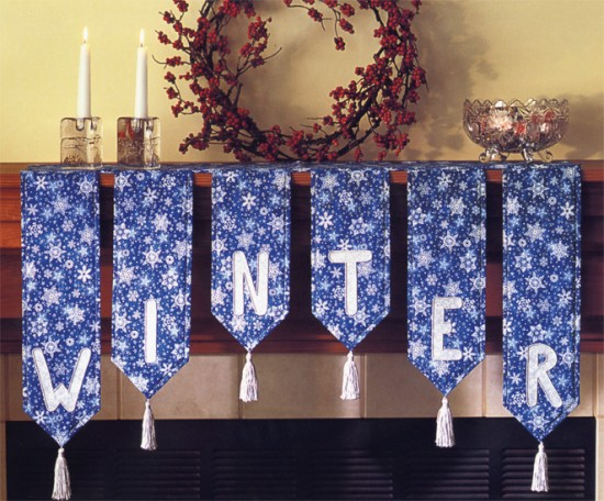 Winter Mantel Banner