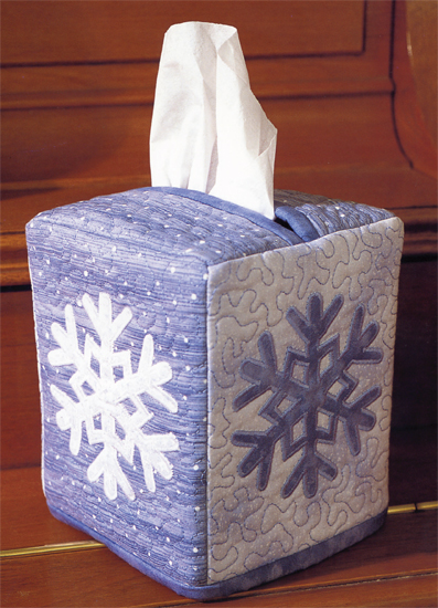 Snowflake Tissue-Box Cover
