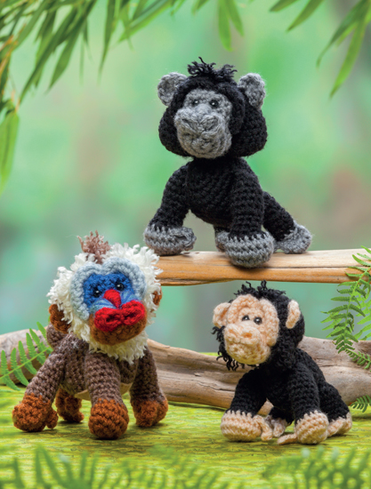 Crochet Safari Animals Free Patterns : FREE pattern: Crochet a zoo for your animals! - Stitch ...