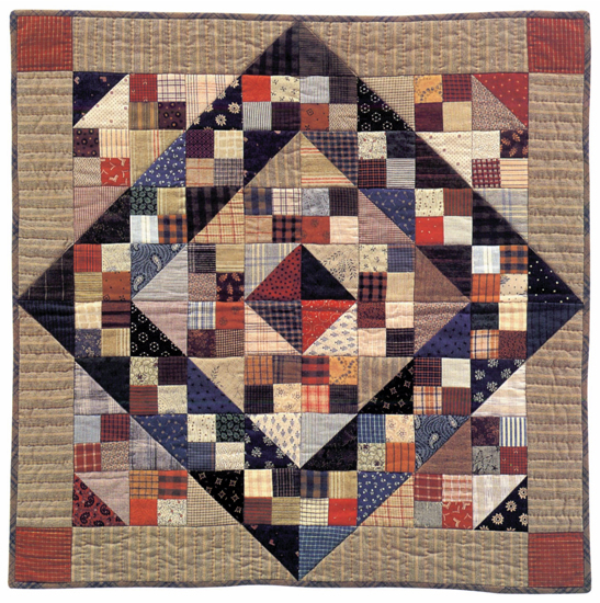 Jacob's Ladder I quilt