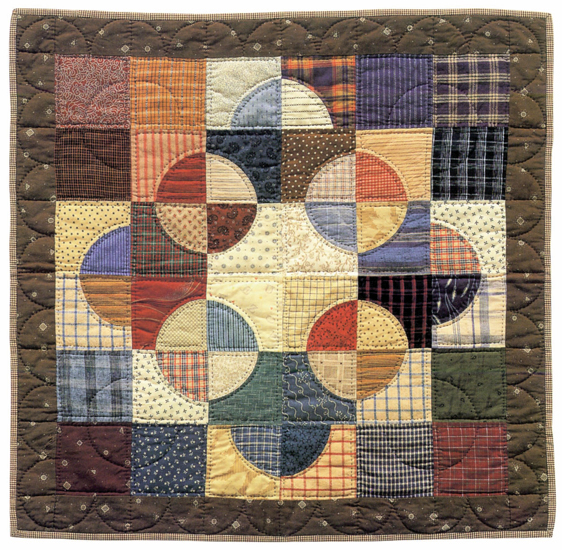Drunkard's Path II quilt