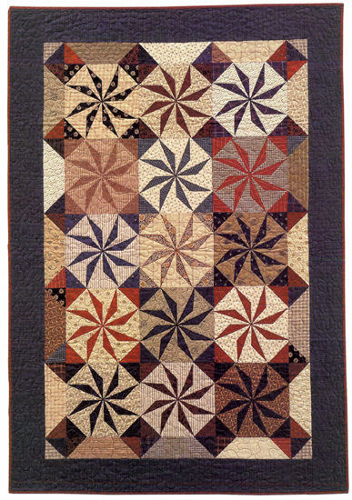 Star of the East II quilt