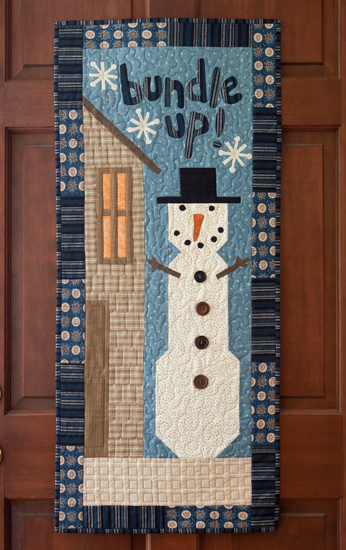 Bundle Up Door Banner