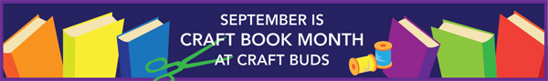 Craft Book Month at CraftBuds