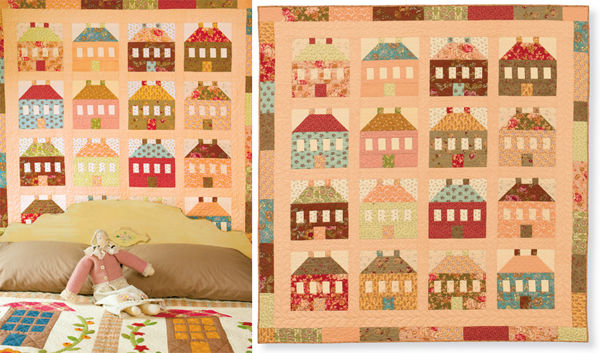 My Cotswold Cottages quilt