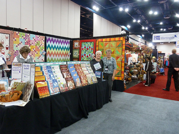 Quilt Market booth 1