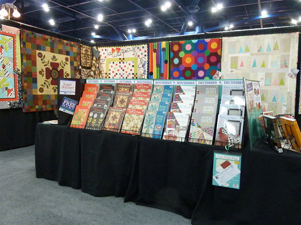 Quilt Market booth 2