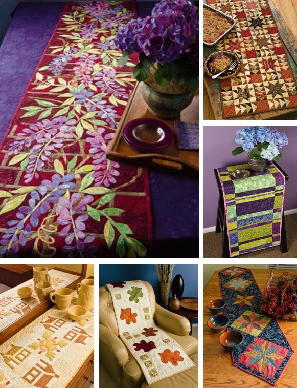 Skinny Quilts and Table Runners 2