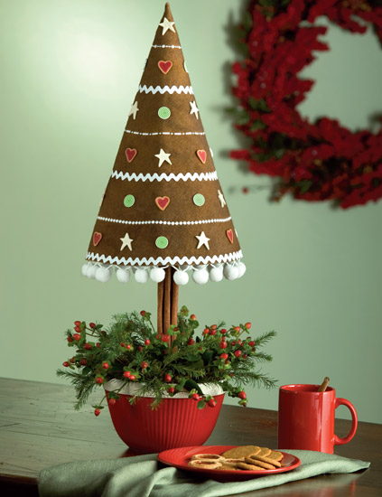 Gingerbread Cookie Dough Tree