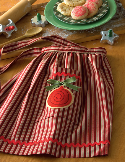 Sugar Cookie Lined Apron
