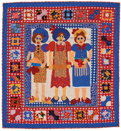 The Aunt's Quilt by Mary Lou Weidman