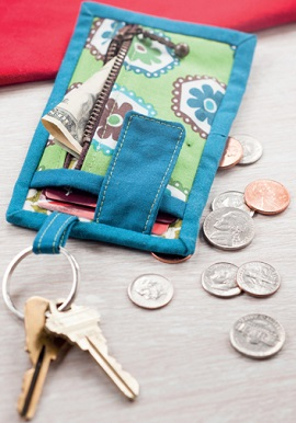 Card and Key Wallet from Sew Gifts