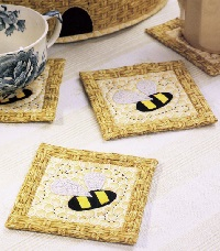 Coasters from The Quilter's Home Spring