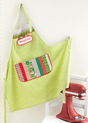 Holiday Apron from Sew Gifts