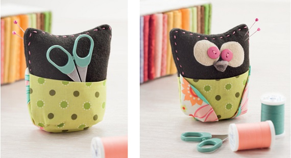 Hoot Pincushion from Sew Gifts!