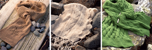 Knitting projects from Ocean Breezes