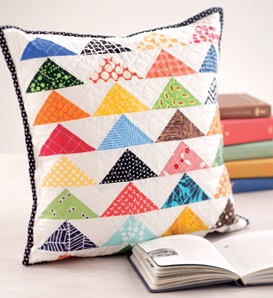 Pointed in One Direction Pillow from Sew Gifts