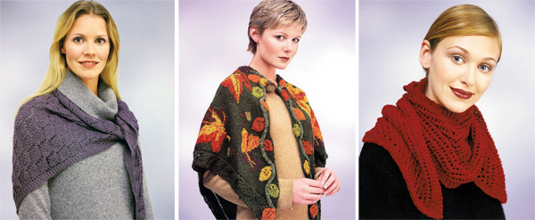 Projects from Knitted Shawls Stoles and Scarves