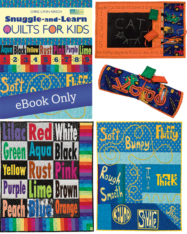 Snuggle-and-Learn Quilts for Kids