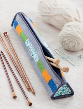 Triangular Knitting Needle Case from Sew Gifts!