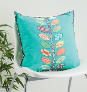 Vine Pillow from Sew Gifts