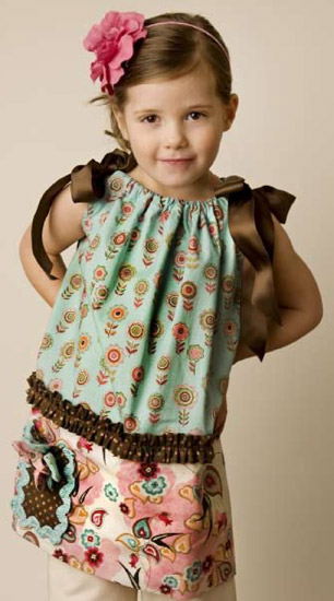 Easy Peasy Little Girl's Dress