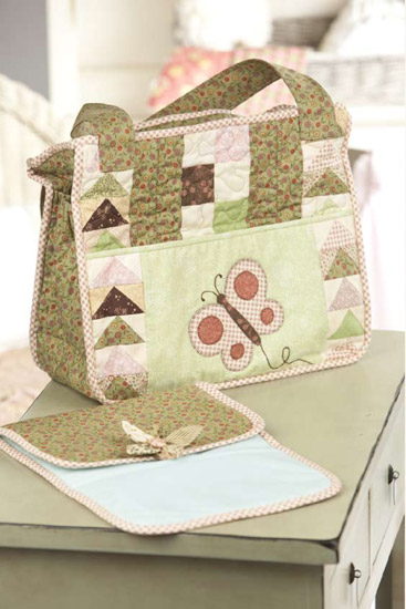 Thoroughly Modern Diaper Bag