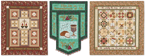 From Paper Piecing Quilts of Praise