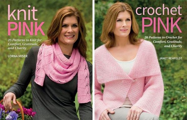 Knit Pink and Crochet Pink