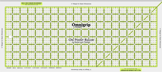 Omnigrid On-Point Ruler