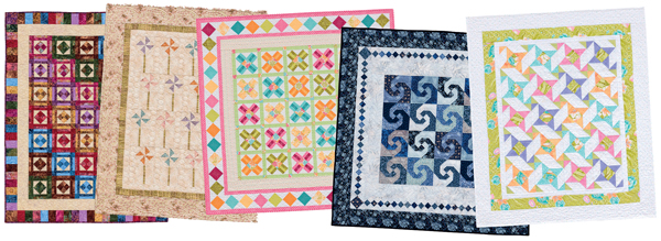 Quilt patterns from On-Point Patchwork