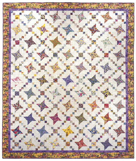 Crazy Chain quilt - alternate design