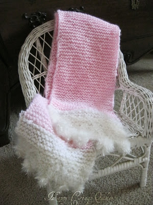 Scarf donated to the Pink Scarf Project