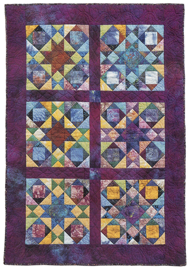 Joseph's Coat quilt - alternate design