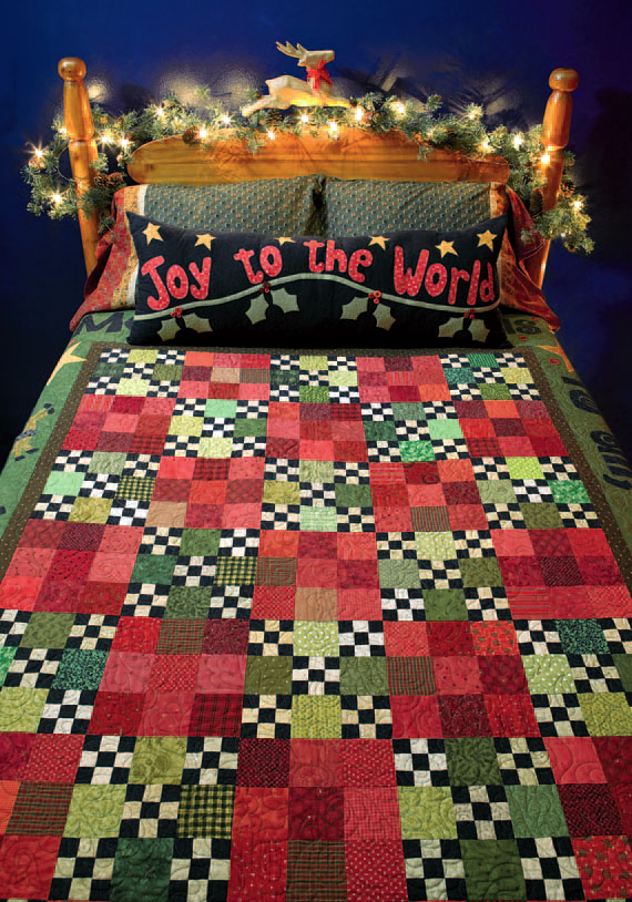 Joy to the World quilt