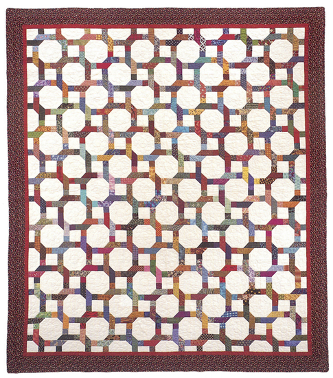 Magic Circle quilt - alternate design