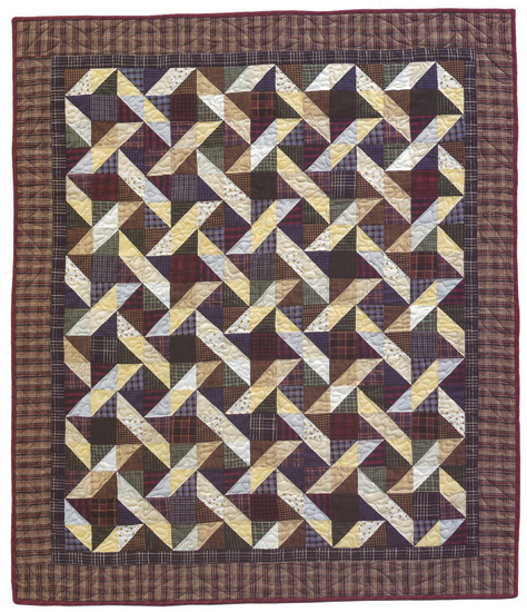 Quartered Star quilt