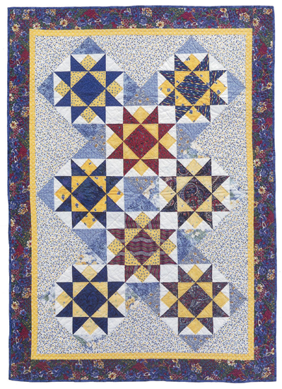 Ray of Light quilt