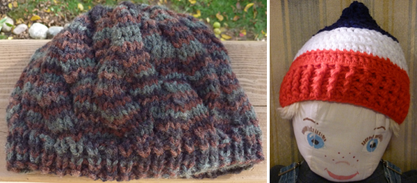 Hats donated to Country Knitting of Maine