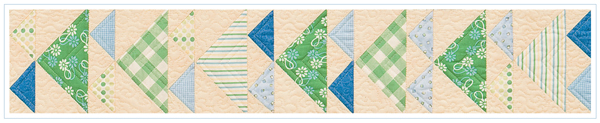 Quilt blocks from Flower Pots