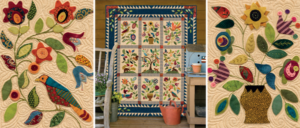 Stitch This! The Martingale Blog : garden quilts - Adamdwight.com
