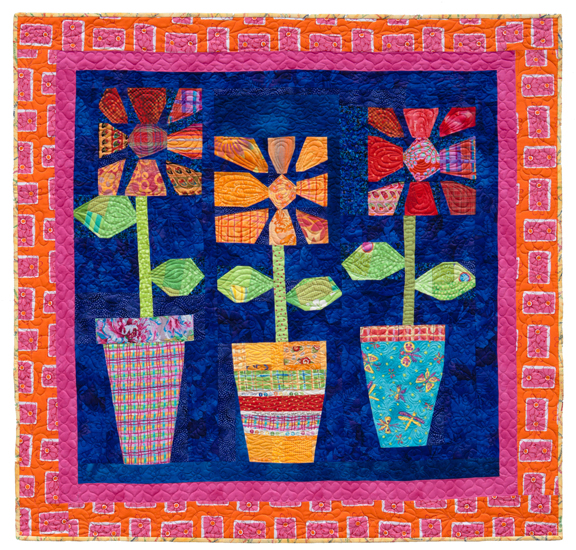 From the gallery: Positively Pretty Posies quilt