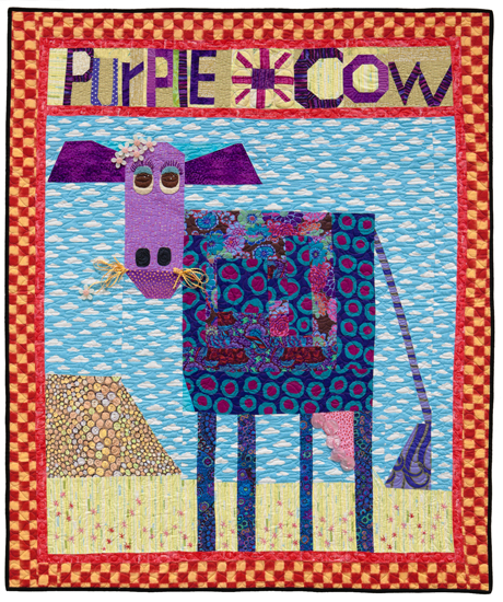 From the gallery: Purple Cow quilt