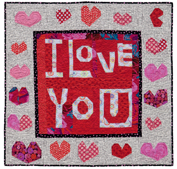From the gallery: This Says It All quilt