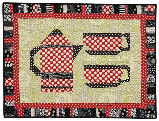 From the gallery: Caffeine, Anyone quilt